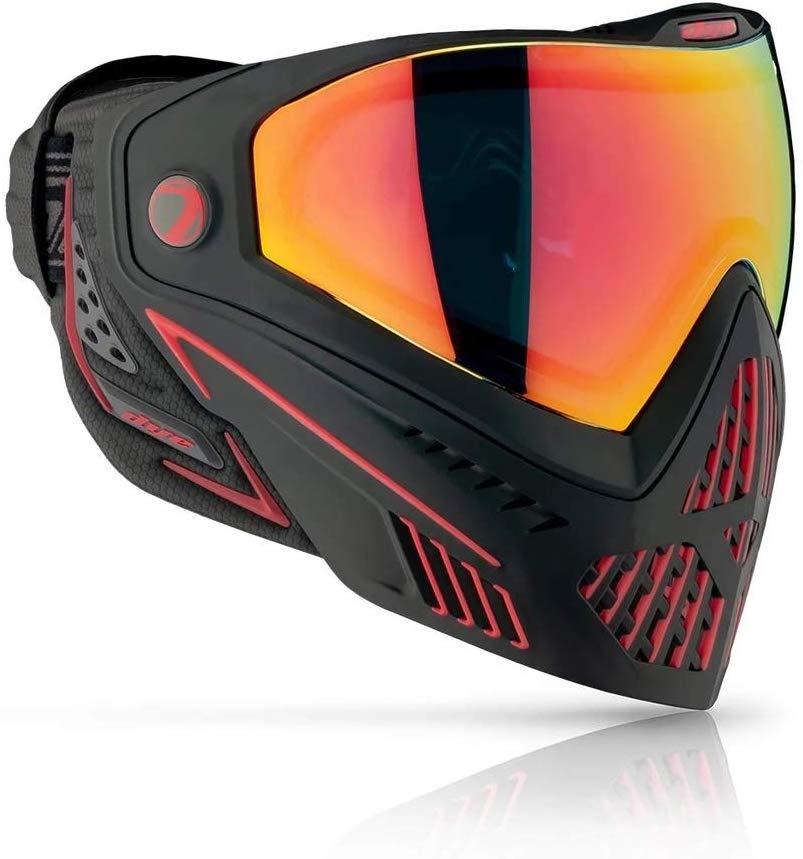 Dye Airsoft Goggle i5 Emerald Black/Red 2.0