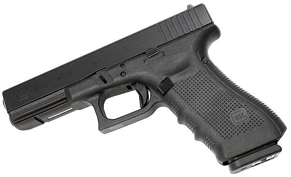 Glock 17 airsoft pistool zijkant