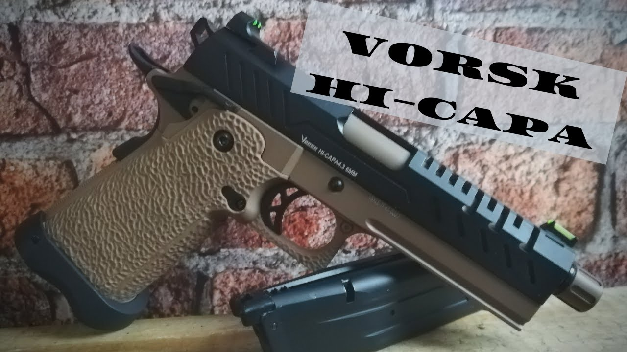 Vorsk GBB HiCapa airsoftpistool